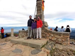 Cim del Matagalls, El Montseny