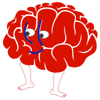 the chaotic dance of the tired mind / brain dancing