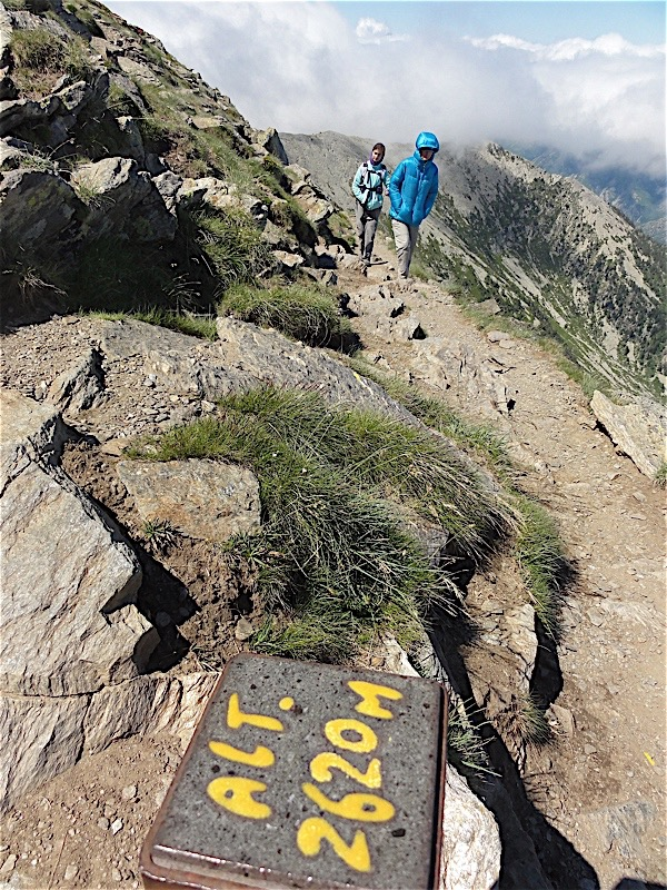 Cami del Canigo pilona a 2620m