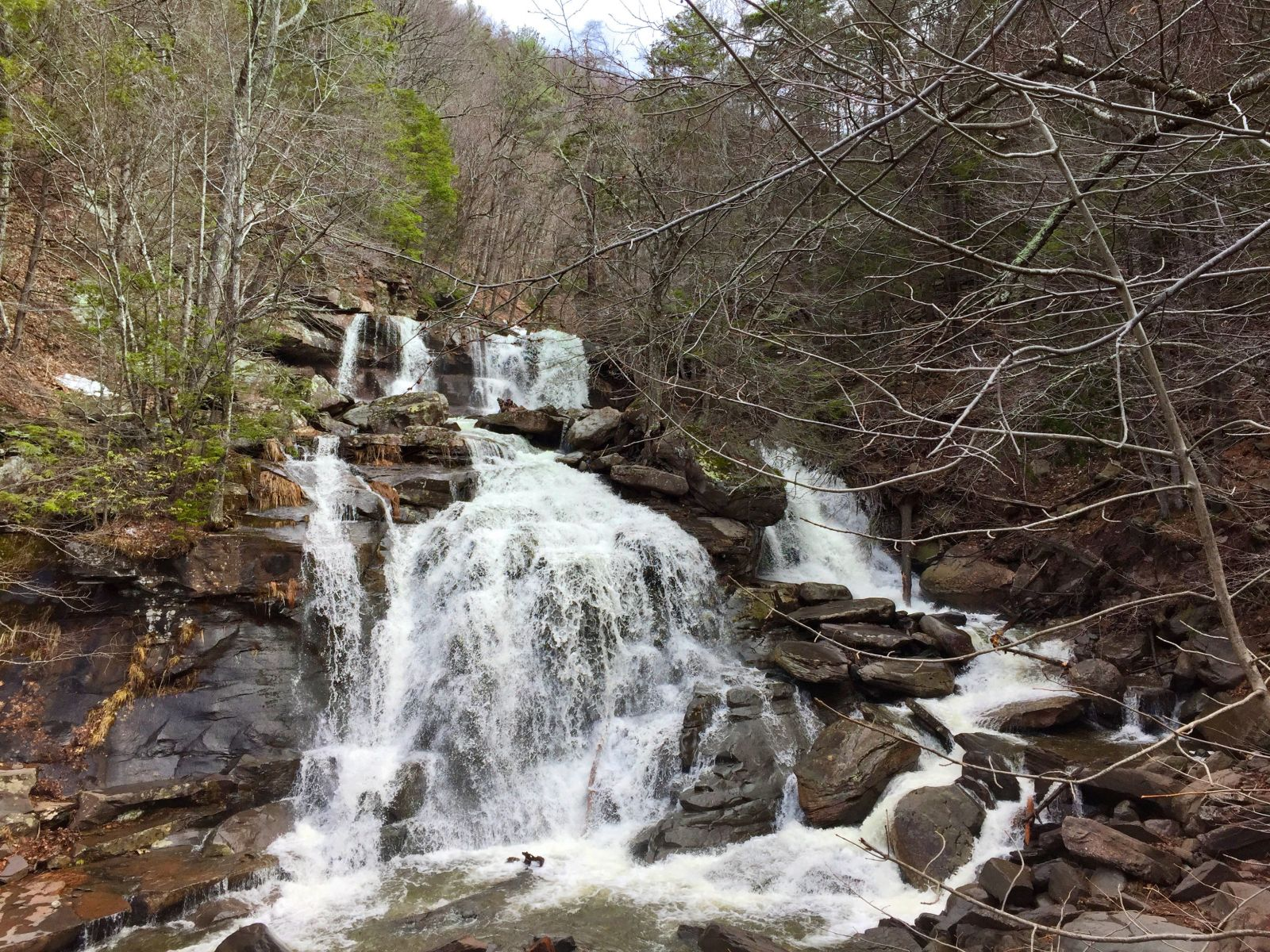 Base of the Kaaterskill Waterfall